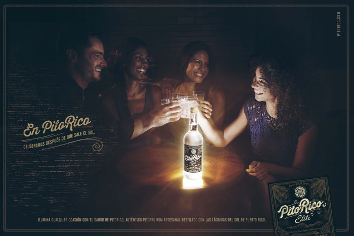 Advertising campaign by Miami lifestyle photographer Jeffery Salter. This is a rum advertisement shot on Miami Beach, Florida