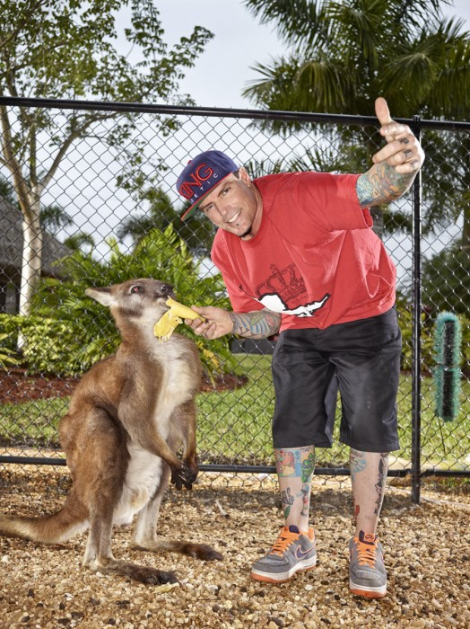 Vanilla Ice | Bucky the Kangaroo | Miami based photographer Jeffery Salter
