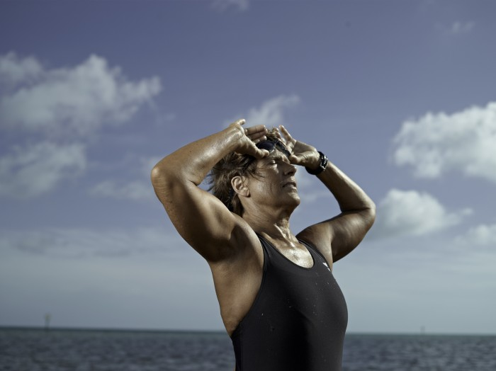 Diana Nyad portrait taken for Readers Digest magazine.